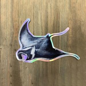 Manta Sticker