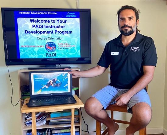 Corona Virus Precautions Don't Disrupt Professional Training At Jack's Diving Locker