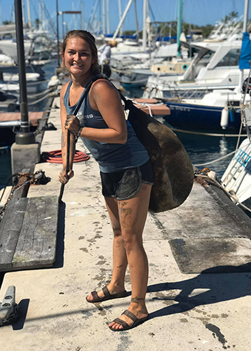 Ocean Fair 2020's Socially Distant Clean Up