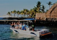 The Blue Dolphin - Dive Boat, Kailua Kona, Hawaii