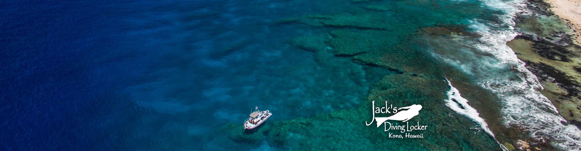 Jack's Diving Locker Dive Boat, Kailua Kona, Hawaii